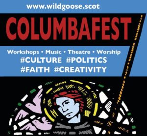 ColumbaFest logo with banner & tags