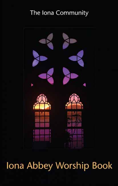 Iona Abbey east window at dawn